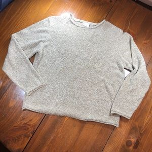 Columbia Crew Neck Pullover Sweater Oatmeal